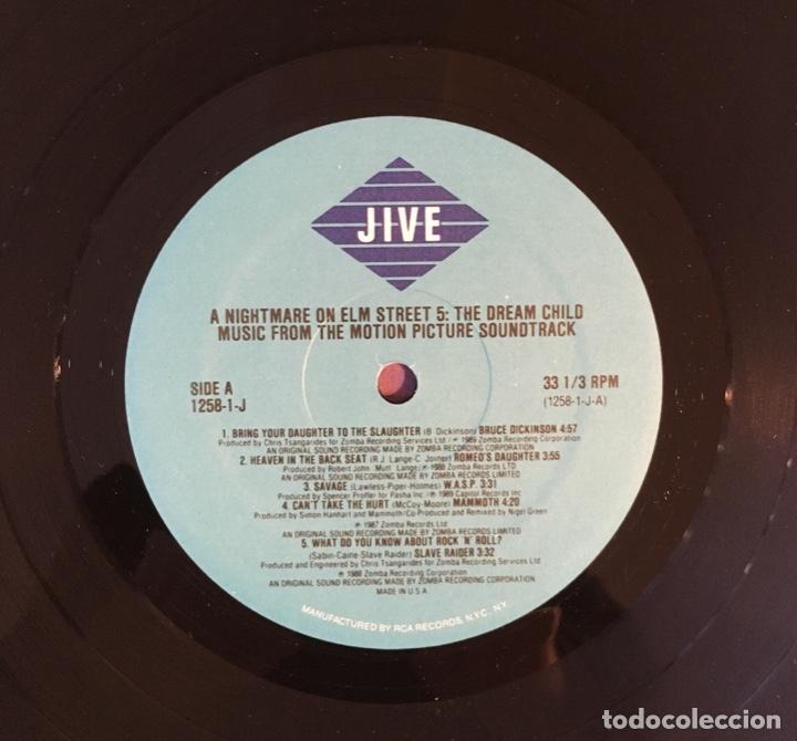 Discos de vinilo: A NIGHTMARE ON ELM STREET 5. 1988. - Foto 4 - 192026162