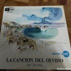 Discos de vinilo: LP LA CANCIÓN DEL OLVIDO JOSE SERRANO REGAL 1967. Lote 192039881