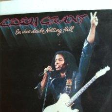 Discos de vinilo: EDDY GRANT - LIVE AT NOTTING HILL 2 LPS. Lote 192041233