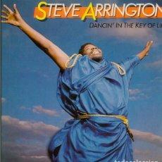 Discos de vinilo: STEVE ARRINGTON_–DANCIN' IN THE KEY OF LIFE. Lote 192041362