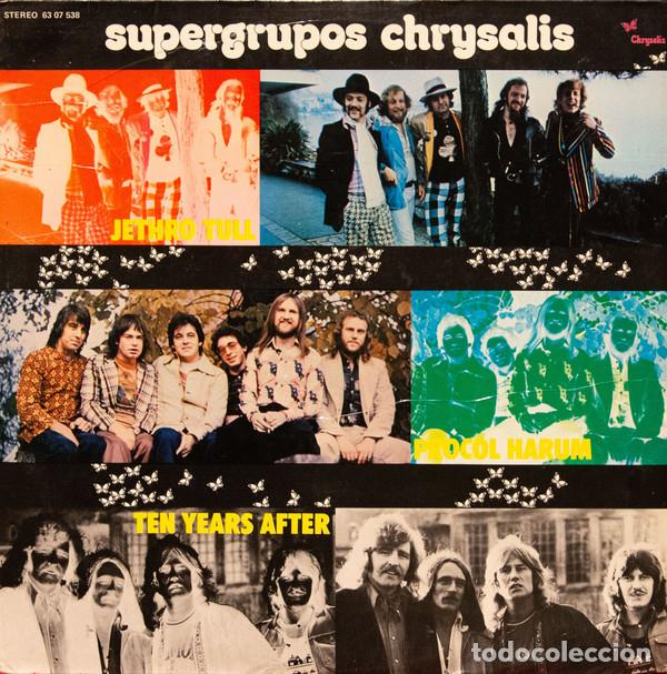 SUPERGRUPOS CHRYSALIS (Música - Discos de Vinilo - Maxi Singles - Rock & Roll)