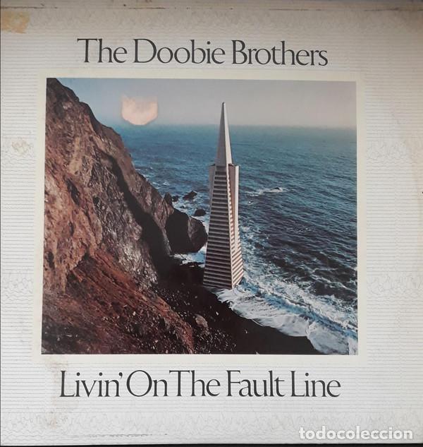 THE DOOBIE BROTHERS - LIVIN ON THE FAULT LINE (Música - Discos de Vinilo - Maxi Singles - Rock & Roll)