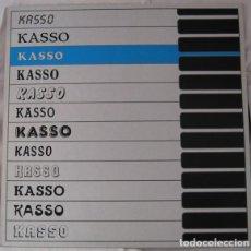 Discos de vinilo: KASSO_–KASSO 2. Lote 192041427