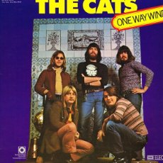 Discos de vinilo: THE CATS _– ONE WAY WIND. Lote 192041443