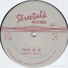 Discos de vinilo: THIS IS IT / TIME HAS COME. Lote 192041448
