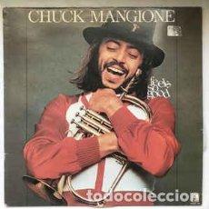 Discos de vinilo: CHUCK MANGIONE_–FEELS SO GOOD. Lote 192041453