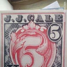 Discos de vinilo: J. J. CALE - 5. Lote 192047218
