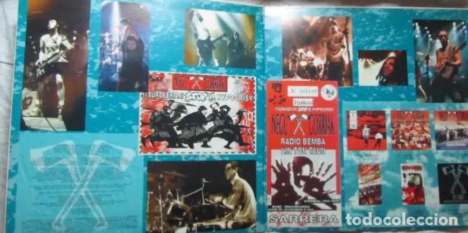LP NEGU GORRIAK HIPOKRISIARI STOP! 93-X-30 PARA EL KE NECESITE LA CARPETA RARO DIFÍCIL ESKORBUTO RIP (Música - Discos - LP Vinilo - Punk - Hard Core)