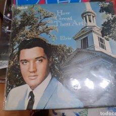 Discos de vinilo: ELVIS PRESLEY .HOW GREAT THOUT ART 1971 UK. Lote 192056835