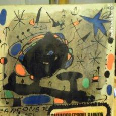 Discos de vinilo: LP RAIMON / SALVADOR ESP`RIU POEMAS - DOBLE CARATULA Y HOJAS CON LETRA CANCIONES - 1966 EDIGSA. Lote 192058148