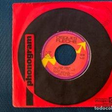 Discos de vinilo: CLAUDE FRANÇOIS – C'EST LA MÊME CHANSON / JE TE DEMANDE PARDON SELLO: DISQUES FLÈCHE – 6061-175, D. Lote 192060185