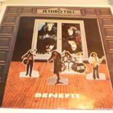 Discos de vinilo: LP JETHRO TULL. BENEFIT. CHRYSALIS 1973 LONDON (PROBADO Y BIEN, BUEN ESTADO). Lote 192065983