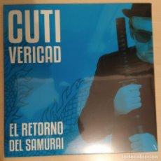 Discos de vinil: CUTI VERICAD - EL REGRESO DEL SAMURAI - NUEVA REFERENCIA TRILOBITE RECORDS 2020. Lote 192077120