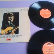 Discos de vinilo: DOBLE LP.ORIGINAL 1972. ERIC CLAPTON.HISTORY OF ERIC CLAPTON.SPAIN.POLYDOR 26 68 006 PORTADA ABIERTA. Lote 192078371