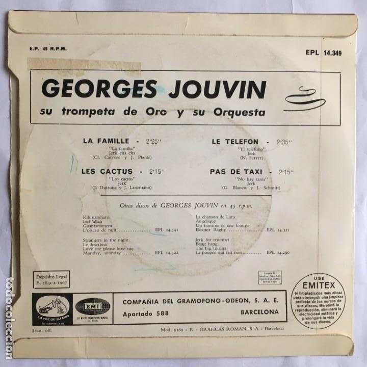 Discos de vinilo: GEORGES JOUVIN / La famille 1967 - Foto 2 - 192082491