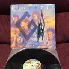 Discos de vinilo: GIUFFRIA - SILK & STEEL LP, 1986, USA. Lote 192084447