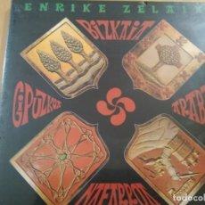 Discos de vinilo: ENRIKE ZELAIA BIZKAIA-GIPUZKOA-ARABA-NAFARROA 4XLPS CAJA PRECINTADA VINILOS. Lote 192084675