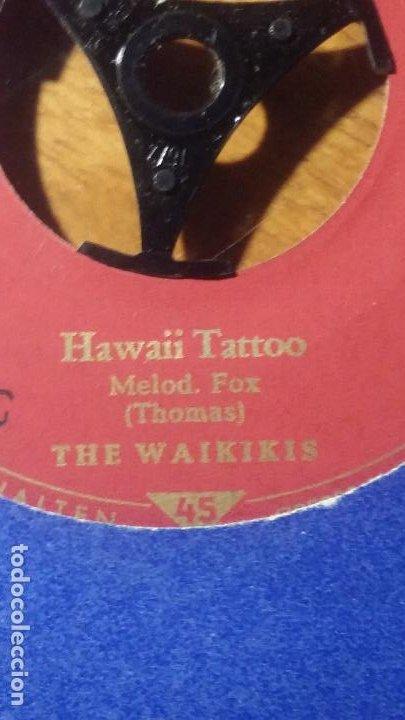 Discos de vinilo: THE WAIKIKIS..HAWAII TATTOO. WAIKIKI WELCOME, TELEFUNKEN - Foto 2 - 192091148