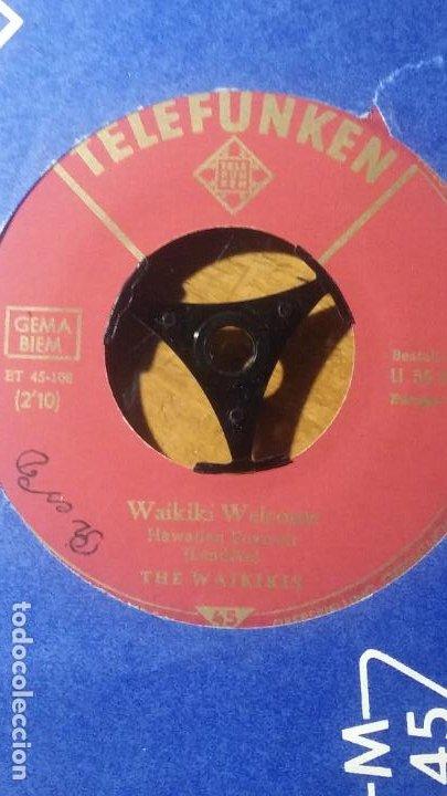Discos de vinilo: THE WAIKIKIS..HAWAII TATTOO. WAIKIKI WELCOME, TELEFUNKEN - Foto 3 - 192091148