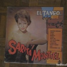 Discos de vinilo: SARA MONTIEL. EL TANGO. HISPAVOX, 30 130 227. ESPAÑA, 1984. FUNDA VG+ DISCO VG++.. Lote 192091853