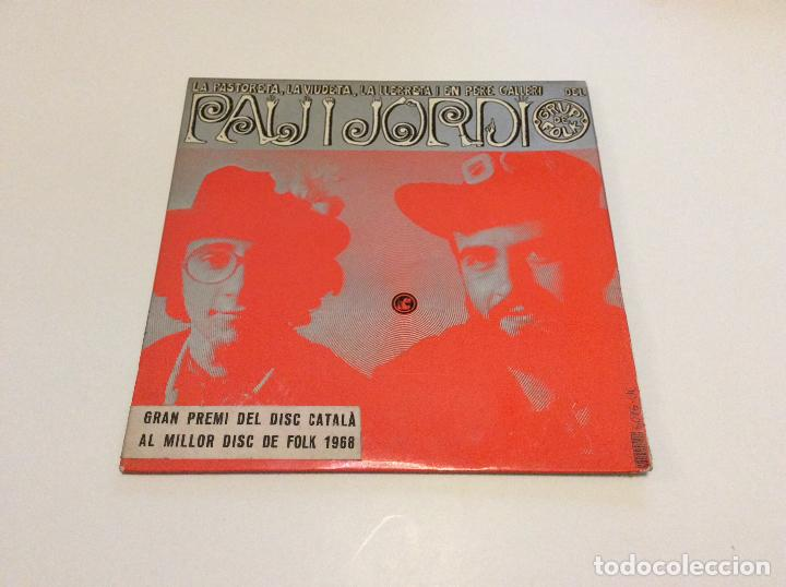 PAU I JORDI (Música - Discos - Singles Vinilo - Grupos Españoles 50 y 60)