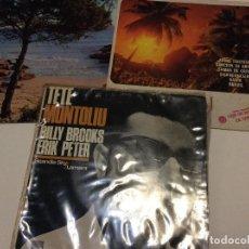Discos de vinilo: TETE MONTOLIU LOTE DE TRES SINGLES . Lote 192096847