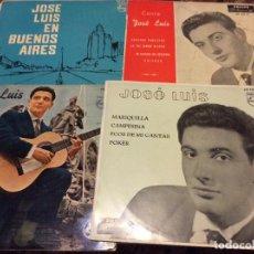 Discos de vinilo: JOSE LUIS LOTE DE 4 SINGLES . Lote 192096973