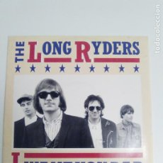 Discos de vinilo: THE LONG RYDERS I WANT YOU BAD / RING BELLS / STATE OF MY UNION ( 1987 ISLAND UK ) SID GRIFFIN. Lote 192102968