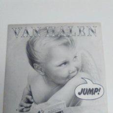 Discos de vinilo: VAN HALEN JUMP / HOUSE OF PAIN ( 1984 WEA ESPAÑA ) DAVID LEE ROTH. Lote 192104056