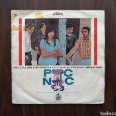 Discos de vinilo: JEANETTE, PIC NIC, CANTA EN INGLES, EP 1968. Lote 192105111