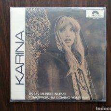 Discos de vinilo: KARINA, EN UN MUNDO NUEVO, CANTA EN INGLES. Lote 192105572