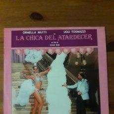 Discos de vinilo: LA CHICA DEL ATARDECER (PRIMO AMORE) RIZ ORTOLANI. Lote 192105577