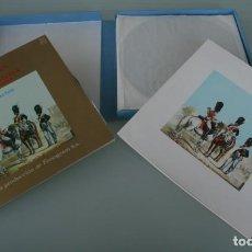 Discos de vinilo: ANTOLOGIA DE LA MUSICA MILITAR DE ESPAÑA - MARCHAS - ESTUCHE CON 10 LP'S Y LIBRETO EXPLICATIVO. Lote 192110105