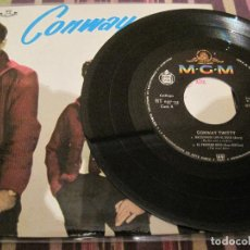 Discos de vinilo: EP CONWAY TWITTY HISPAVOX 05735 SPAIN 1961 SOLO DISCO SIN PORTADA BLUE SUEDE SHOES. Lote 192111662