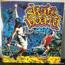 Discos de vinilo: SKATE BOARD, DOBLE LP MUSICA DANCE HITS. Lote 192118347
