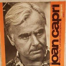 Discos de vinilo: JOAN CAPRI / FUTBOLITIS-LA VIDA ES UN SERIAL / SG - VERGARA-1967 / CALIDAD LUJO.****/****. Lote 192120130