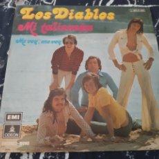 Discos de vinilo: LOS DIABLOS. MI TALISMAN. ME VOY, ME VOY. EMI.. Lote 192126766