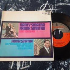 Discos de vinilo: NANCY SINATRA Y FRANK SINATRA. SINGLE. Lote 192131005