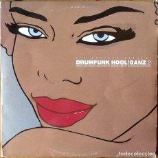 Discos de vinilo: V / A : DRUMFUNK HOOLIGANZ 2 [UK 2000] 4X12'. Lote 192131732