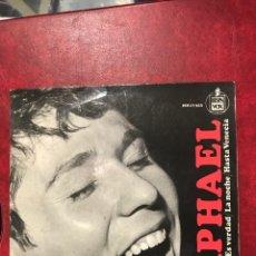 Discos de vinilo: RAPHAEL SINGLE EP DE 1966. Lote 192138680