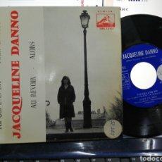 Discos de vinilo: JACQUELINE DANNO EP TOI QUI L'AS DIT + 3 ESPAÑA 1963. Lote 192138788