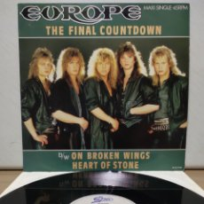 Discos de vinilo: EUROPE - THE FINAL COUNTDOWN 1986 ED HOLANDESA. Lote 192140546