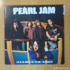 Discos de vinilo: PEARL JAM - LIVE IN LOS ANGELES OCT. 6TH 1991 - LP. Lote 192141812