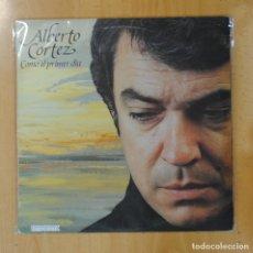 Disques de vinyle: ALBERTO CORTEZ - COMO EL PRIMER DIA - LP. Lote 192141933