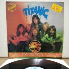 Discos de vinilo: TITANIC - THE BEST OF TITANIC 1975 ED HOLANDESA. Lote 192142473