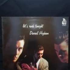 Discos de vinilo: JOYA, RARO!! PRIMER LP DE DARREL HIGHAM - LETS ROCK TONIGHT 1995, OPORTUNIDAD!!!!. Lote 207111892