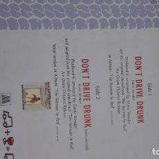 Discos de vinilo: DISCO DE D.G. TRAFICO SI BEBES NO CONDUZCAS. 1984 .STEVE WONDER. Lote 192160280