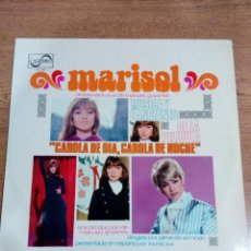 Discos de vinilo: MARISOL - LP MUSICA Y CANCIONES DE LA PELICULA CAROLA DE DIA CAROLA DE NOCHE BUEN ESTADO VER FOTOS . Lote 192168966