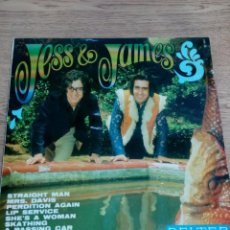 Discos de vinilo: JESS AND JAMES - LP SKATING - BUEN ESTADO - VER FOTOS - LEER . Lote 192170535