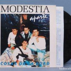 Discos de vinilo: LP. MODESTIA APARTE. COSAS DE LA EDAD. Lote 192176356
